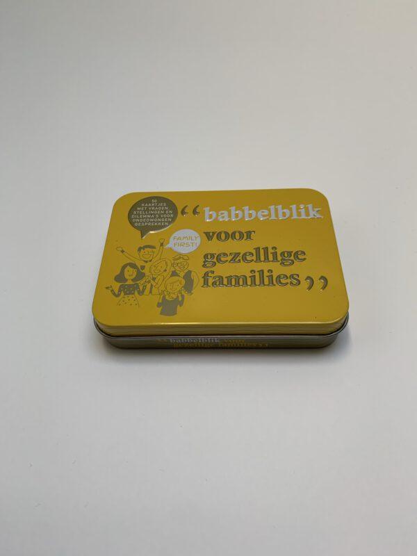 Babbelblik families